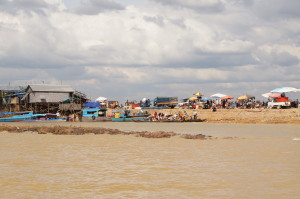 Tonle Sap See, Floating Villages, Cambodia, Chong Kneas