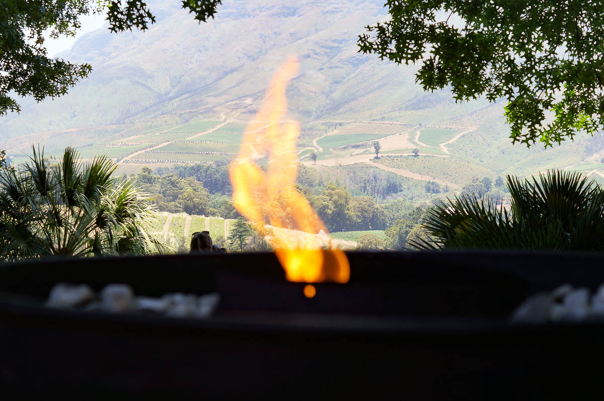 Flame Delaire Wine Farm