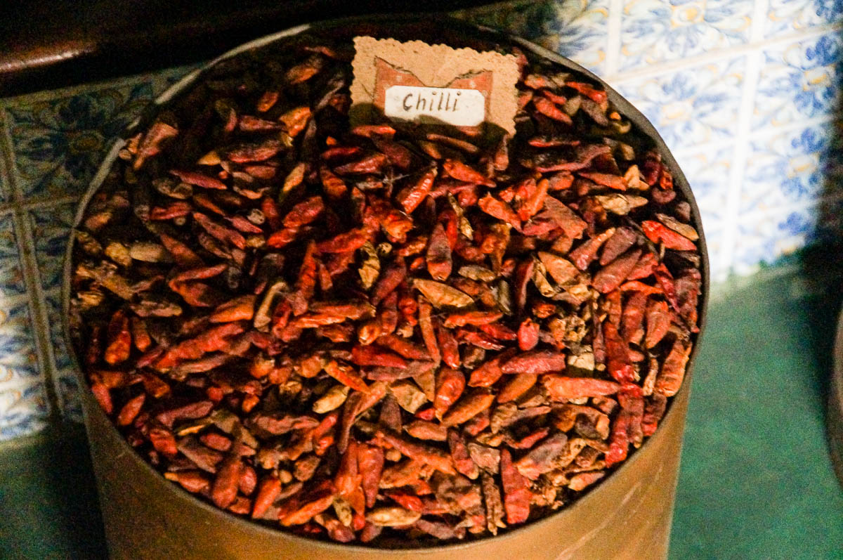 Chilli in House of spices in stonetown